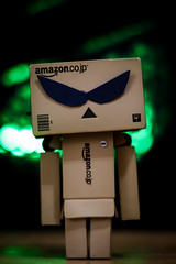 Sci-fi | 233/366 (Cassidy Jade) Tags: danbo bokeh lights green scifi sunglasses cy365 366 366project 366the2016edition 3662016 day233366 20aug16