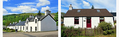 Cottages (Raymonde Contensous) Tags: ecosse highlands valledeglencoe nature montagne paysages cottages maisons habitations