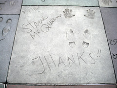 Steve McQueen - Hollywood (lukedrich_photography) Tags: sony dscw55 sonydscw55 hdr us usa northamerica america unitedstatesofamerica unitedstates  vereinigtestaaten    estadosunidos tatsunis   californie    california southerncalifornia hollywood chinese theatre graumans manns walkoffame cinema palace historic sidgrauman losangeles cultural monument hollywoodboulevard stevemcqueen actor movie handprint footprint
