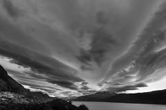 Evening clouds (Vaclav Klicnik) Tags: 2016 bw chile dovolen lagogrey np patagonie torresdelpaine trekking wcircuit zima jinamerika torresdepaine regindemagallanesydelaan regindemagallanesydelaantrticachilena cl