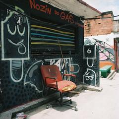(Sovay83) Tags: bronicasqa kodakportra160 120mm 6x6 zenzanon film mediumformat riodejaneiro brazil favela