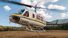 C-GKVI - VIH Helicopters - Bell 205A-1 (bcavpics) Tags: cgkvi vihhelicopters bell 205 a1 b205 aviation aircraft helicopter chopper heli prichard britishcolumbia canada bcpics
