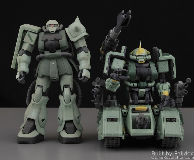 Motor King - 1-100 Zaku Tank Review 4 by Judson Weinsheimer