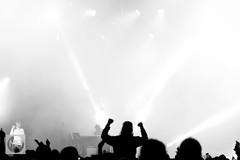 Underworld at Bluedot, Jodrell Bank Discovery Centre (tw332) Tags: bw blackwhite bluedot bluedotfestival concert festival jodrellbank jodrellbankdiscoverycentre karlhyde lights ricksmith stagelights underworld