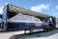 15/8.2016 - the world's biggest LEGO ship arrived in Copenhagen (julochka) Tags: lego ship dfds 150thanniversary