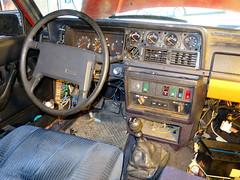 IMG_4016 (rat_fink) Tags: volvo 200 240 242 242dl interior steeringwheel dash dashboard gauges seat