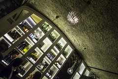 20160823_Admiring the wine (Damien Walmsley) Tags: wine barcelona tapas barbars cellar ceilling light people admiring