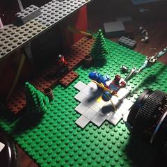 Behind the Scenes 4 - Character of a Ninja (rioforce) Tags: rioforce lego brickfilm ninja ninjago brickfilming legoninjago character kai jay zane cole lloyd nya wu lighting behindthescenes tutorial