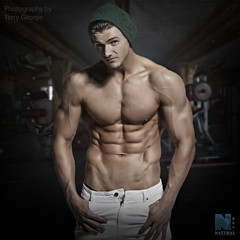 Shane O'Rourke NFM (TerryGeorge.) Tags: naturalfitnessmodels abs sixpack workout toned athletic terry george shirtless fit models