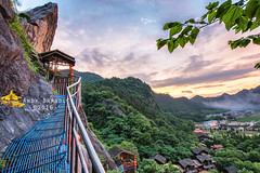 Towards the Peak (Red Lantern Village, Tonglu, Zhejiang, China) (Andy Brandl (PhotonMix.com)) Tags: china landscape peak clim tranquility tonglu zhejiangprovince photonmix mountains village
