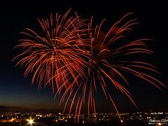 Malta --- Zebbug --- Fireworks (Drinu C) Tags: adrianciliaphotography sony dsc hx100v malta feast fireworks longexposure 12thmay colours shells fire zebbug