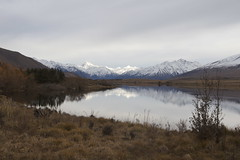 Lake Clearwater, Ashburton Lakes, Canterbury, New Zealand (Steve Attwood) Tags: landscape auldwoodphotography ashburtonlakes otewharekai conservationpark water light reflection sky cloud snow mountain stillness newzealand canon southislandhighcountry lake winter lakeclearwater