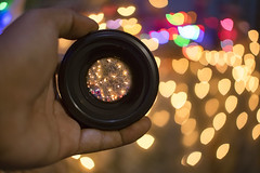 52 weeks - #34 Bokeh! (leo027) Tags: project52 nikon d3300 nikonlens nikkor 50mm f14 35mm f18 bokeh color desenfoque objetivo luces