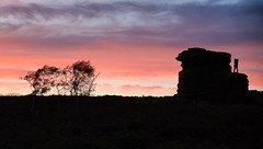 Love On The Rocks (Timallen) Tags: derbyshire mothercap millstoneedge peakdistrict silhouette sunset nikond750