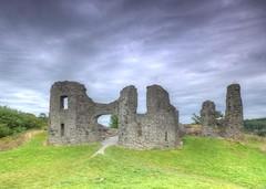 Newcastle Emlyn Castle, Wales UK (Jeffpmcdonald) Tags: