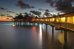 Noumea Sunset (hapulcu) Tags: grandeterre iledespins ileofpines newcaledonia nouvellecaledonie southpacific noumea beach dusk pier sunset