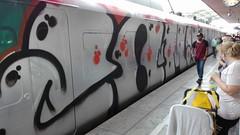 COMI (inking systems) Tags: comi wholecar train personenzug sbahn graffiti outdoor streetart
