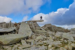 The amazing Cantilever on Glyder Fach, Snowdonia (neilsimpson515) Tags: nikon2470 tryfan snowdonia northwales nikon nikond800e landscape mountains