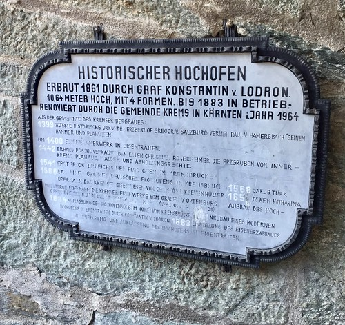 Historischer Hochofen