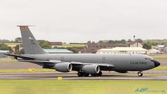 57-1428 KC-135R Stratotanker US Air Force (kw2p) Tags: kc135r stratotanker boeing 151stars 134tharw military boeing707 egpkpik prestwickairport scotland uk kw2p usairforce airforce