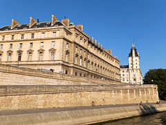 Paris from the Seine (Grangeburn) Tags: paris architecture geotagged seine riverseine france outdoors buildings frencharchitecture