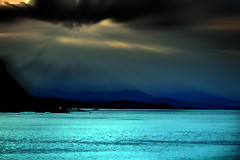 134  Color of Dusk (tsuping.liu) Tags: outdoor ocean organicpatttern sky sunset serene bright sea cloud colorofsky coast lighting moment