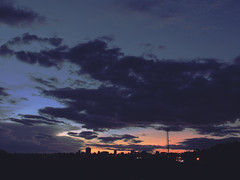 Atardecer desde el Distribuidor Jirajara, Barquisimeto. (josefelix17) Tags: barquisimeto lara venezuela atardecer sunset twilight crepusculo city ciudad edificios buildings landscape paisaje canon