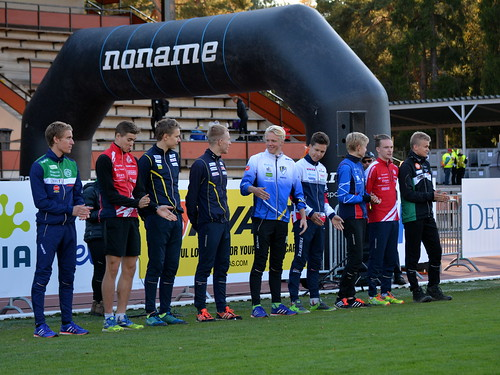 Finnish Sprint-O Champs - prize giving ceremony (Vaasa, 20160917)