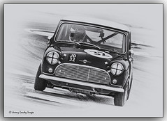 1963 Austin Mini Cooper S 1293 James Dorin (jdl1963) Tags: historic racing thruxton motorsport motor blackandwhite bw black white monochrome 1963 austin mini cooper s 1293 james dorin worldcars