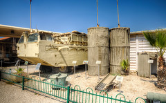 bridging equipment (3) (maskirovka77) Tags: israeldefenseforces idf museum idfmuseum tanks m48 outdoors hdr armoredcar artillery antiaircraft armoredpersonnelcarrier bridgingequipment