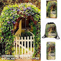 """Get these """"Morning Glory Gate"""" products and much more exclusively from http://ift.tt/1hfrEWq #home #technology #arts #crafts #clothing #products #garden #nature #outdoors #bags #flowers (dewelch) Tags: ifttt instagram get these morningglorygate products much more exclusively from httpdouglasewelchcomstore home technology arts crafts clothing garden nature outdoors bags flowers"""