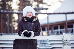 Ириша_05012016 (120) (Sonny05) Tags: canon 5dmarkii portrait lady light winter ef85mmf18 mood emotions