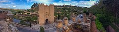 The Roman Tower at Puente de Alcantara, Toledo, Spain. (hippoking) Tags: chui spain toledo bridge city destination panorama tower travel