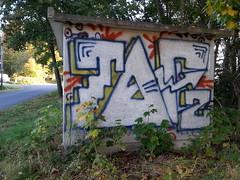 random graffiti (Thomas_Chrome) Tags: graffiti streetart street art spray can wall illegal vandalism tampere suomi finland europe nordic chrome