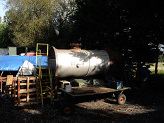No 70, S&C Rly 18/10/16 (Woolwinder) Tags: hudswellclarke 060t manchestershipcanal boiler blunsdon swindonandcrickladerailway wiltshire england no70