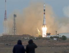 Expedition 49 Launch (NHQ201610190013) (NASA HQ PHOTO) Tags: kazakhstan baikonur roscosmos baikonurcosmodrome expedition49launch kaz expedition49 nasa joelkowsky soyuzms02