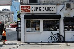 DSC_0029 v2 (collations) Tags: newyork newyorkcity nyc lowereastside les eldridgestreet canalstreet cupsaucer signs vintage signage cocacola fishtail