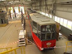 Konstal 105Na, #634, Tramwaje lskie (transport131) Tags: tram tramwaj bdzin t kzk gop konstal 105na zajezdnia depot