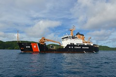 Cutter Sequoia Western, Central Pacific fisheries deployment (Coast Guard News) Tags: 225 d14 fad oceania palau sequoia underway westernpacific wlb pw