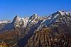 "A view to the ""Eiger"" (elevation 3970 m = 13025 ft), ""Mönch"" (4099 m = 13448 ft) and ""Jungfrau"" (4158 m = 13642 ft) - from left to right. ""Mönch"" is the german word for ""monk"", ""Jungfrau"" means young lady.  No. 9955. (Izakigur) Tags: alps alpes alpen berneroberland bern berne berna ch cantonofbern d700 dieschweiz europa eiger glacier birg kleinescheidegg lauterbrunnen swiss suiza suisia suizo switzerlnad kantonbern autumn flickr nature myswitzerland musictomyeyes lasuisse laventuresuisse liberty ilpiccoloprincipe thelittleprince lepetitprince nikkor nikond700 nikkor2470f28 topf25 topf300 100faves 200faves 250faves 300faves"