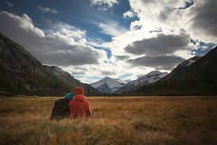 Our perfect moments (Marty085) Tags: trentino valdifumo goldenvalley travel love landscape mountain sky outdoor brenta dolomites dolomiti