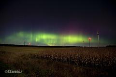 Aurora Borealis Oct 13 2016 (Lorencz Photography) Tags: auroraborealis aurora northernlights nature nightphotography solarflare cme space spaceweather windturbine southernontario canada bigdipper flickrfriday