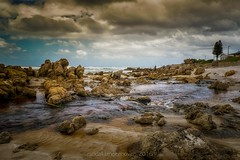 overberg coastal22 (WITHIN the FRAME Photography(5 Million views tha) Tags: coastal sunset fishermen boulders landscape detail rocks overberg overcast sky cloudy moody river fuji fujinon xt1 wideangle westerncape southafrica hdr