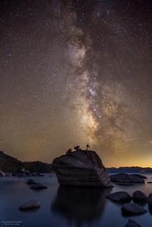 Bonsai Rock Milkyway, Lake Tahoe