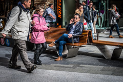 Suave (jim.tavasci) Tags: suave confident man mall mobile cool hdr