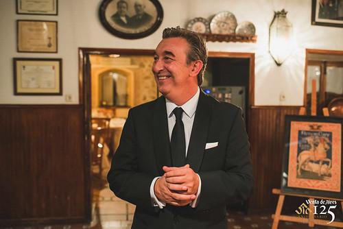 José Luis Humanes Pérez, Propietario del Restaurante de Toledo Venta de Aires. Único centenario de Castilla-La Mancha