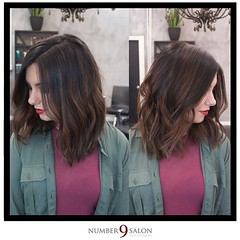 "The first final look from our Fall Trend Forecast comes from stylist, Amanda G. with these gorgeous, caramel highlights. Stylist, and makeup guru, Eric created the face to match, with burgundy/gold eyes and wine-colored lips. • <a style=""font-size:0.8em;"" href=""http://www.flickr.com/photos/41394475@N04/30133286142/"" target=""_blank"">View on Flickr</a>"