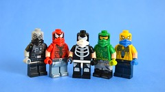 Ana Electronic (th_squirrel) Tags: lego sci fi punk thug minifig minifigs minifigures minifigure mask