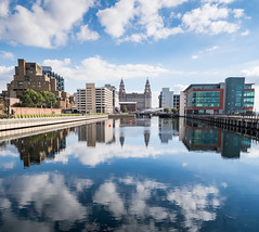Liverpool - Princes Dock (Andrew Hounslea) Tags: architecture building buildings canon canong7xmarkii cloud clouds dock england g7x g7xii kingdom liver liverbuilding liverpool markii merseyside princes princesdock reflection reflections sky united unitedkingdom