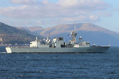 HMCS Charlottetown (FFH339) (corax71) Tags: exercise joint warrior 162 jw162 jw ship shipping boat vessel marine maritime transport transportation warship war armed force forces military naval nato cloch point gourock inverclyde scotland great britain united kingdom gb uk hmcs charlottetown ffh 339 ffh339 halifaxclass halifax class city cityclass multi role multirole patrol frigate royal canadian navy canada rcn royale canadienne